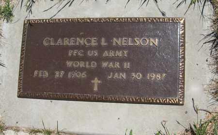 NELSON, CLARENCE L. (MILITARY MARKER) - Pierce County, Nebraska | CLARENCE L. (MILITARY MARKER) NELSON - Nebraska Gravestone Photos