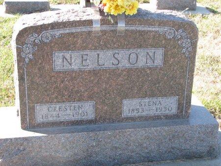 NELSON, CRESTEN - Pierce County, Nebraska | CRESTEN NELSON - Nebraska Gravestone Photos