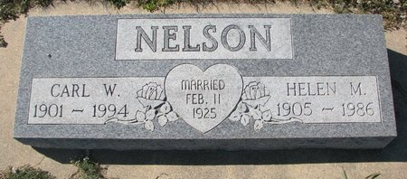 NELSON, HELEN M. - Pierce County, Nebraska   HELEN M. NELSON - Nebraska Gravestone Photos