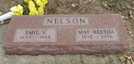 NELSON, MAY BERTHA - Pierce County, Nebraska | MAY BERTHA NELSON - Nebraska Gravestone Photos