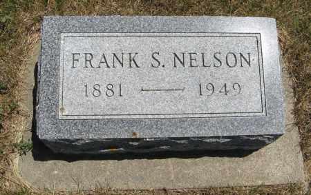 NELSON, FRANK S. - Pierce County, Nebraska | FRANK S. NELSON - Nebraska Gravestone Photos