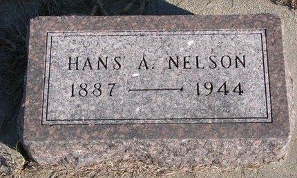 NELSON, HANS A. - Pierce County, Nebraska | HANS A. NELSON - Nebraska Gravestone Photos