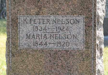 NELSON, MARIA (CLOSE UP) - Pierce County, Nebraska | MARIA (CLOSE UP) NELSON - Nebraska Gravestone Photos