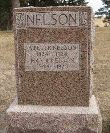 NELSON, K. PETER - Pierce County, Nebraska | K. PETER NELSON - Nebraska Gravestone Photos