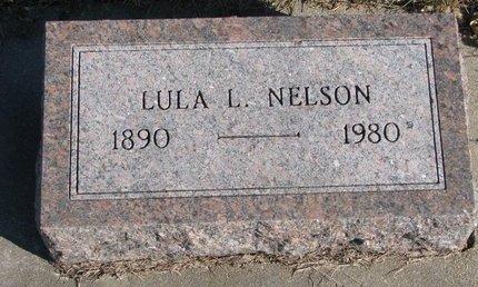 NELSON, LULA LOUISE - Pierce County, Nebraska | LULA LOUISE NELSON - Nebraska Gravestone Photos