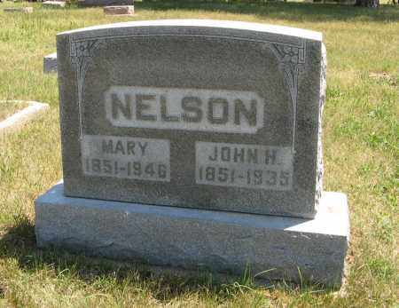 NELSON, MARY - Pierce County, Nebraska | MARY NELSON - Nebraska Gravestone Photos