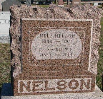NELSON, ELIZA - Pierce County, Nebraska | ELIZA NELSON - Nebraska Gravestone Photos