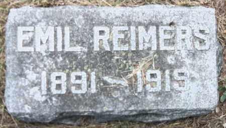 REIMERS, EMIL - Pierce County, Nebraska | EMIL REIMERS - Nebraska Gravestone Photos