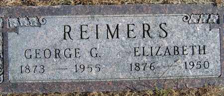 REIMERS, GEORGE G - Pierce County, Nebraska | GEORGE G REIMERS - Nebraska Gravestone Photos