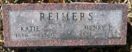 REIMERS, HENRY P - Pierce County, Nebraska | HENRY P REIMERS - Nebraska Gravestone Photos