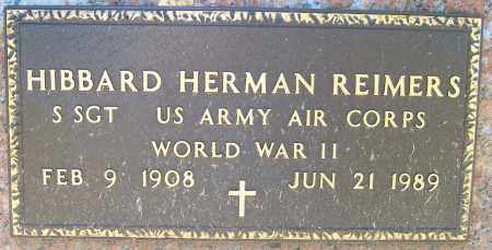 REIMERS, HIBBARD HERMAN (WW II) - Pierce County, Nebraska | HIBBARD HERMAN (WW II) REIMERS - Nebraska Gravestone Photos