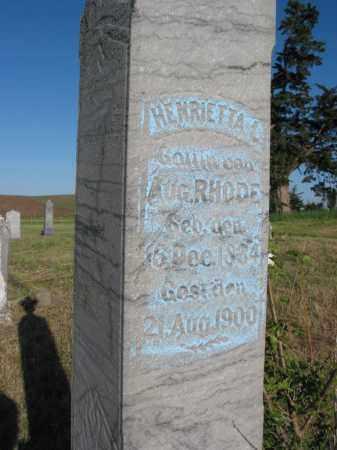 ROHDE, HENRIETTA (CLOSE UP) - Pierce County, Nebraska | HENRIETTA (CLOSE UP) ROHDE - Nebraska Gravestone Photos