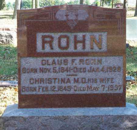 REIMERS, CHRISTINA M D - Pierce County, Nebraska | CHRISTINA M D REIMERS - Nebraska Gravestone Photos