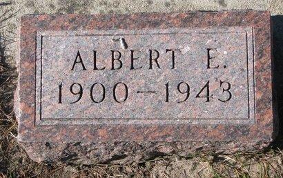 THOMPSON, ALBERT E. - Pierce County, Nebraska | ALBERT E. THOMPSON - Nebraska Gravestone Photos