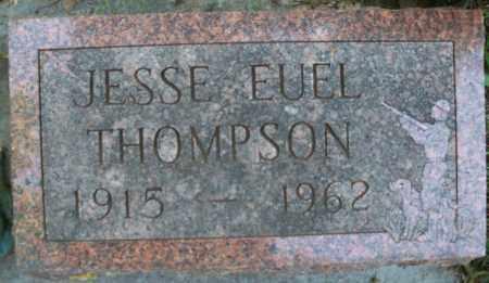 THOMPSON, JESSE EUEL - Pierce County, Nebraska | JESSE EUEL THOMPSON - Nebraska Gravestone Photos