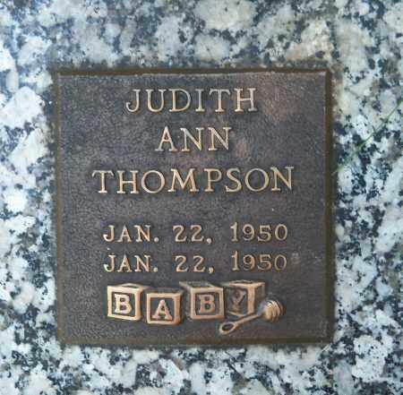 THOMPSON, JUDITH ANN - Pierce County, Nebraska | JUDITH ANN THOMPSON - Nebraska Gravestone Photos