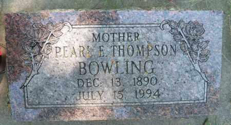 THOMPSON, PEARL E - Pierce County, Nebraska   PEARL E THOMPSON - Nebraska Gravestone Photos