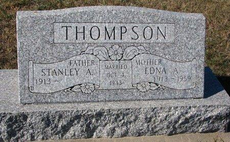THOMPSON, STANLEY A. - Pierce County, Nebraska | STANLEY A. THOMPSON - Nebraska Gravestone Photos