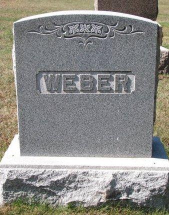 WEBER, *FAMILY MONUMENT - Pierce County, Nebraska | *FAMILY MONUMENT WEBER - Nebraska Gravestone Photos