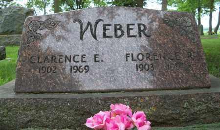 WEBER, CLARENCE ELMER - Pierce County, Nebraska | CLARENCE ELMER WEBER - Nebraska Gravestone Photos