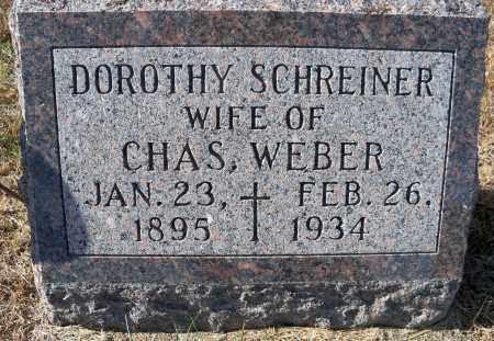 WEBER, DOROTHY - Pierce County, Nebraska | DOROTHY WEBER - Nebraska Gravestone Photos