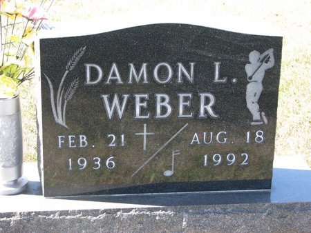 WEBER, DAMON L. - Pierce County, Nebraska | DAMON L. WEBER - Nebraska Gravestone Photos