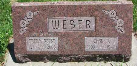 WEBER, CARL J. - Pierce County, Nebraska | CARL J. WEBER - Nebraska Gravestone Photos
