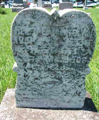 WEBER, HELEN E. - Pierce County, Nebraska | HELEN E. WEBER - Nebraska Gravestone Photos