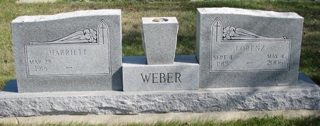 WEBER, HARRIETT - Pierce County, Nebraska | HARRIETT WEBER - Nebraska Gravestone Photos