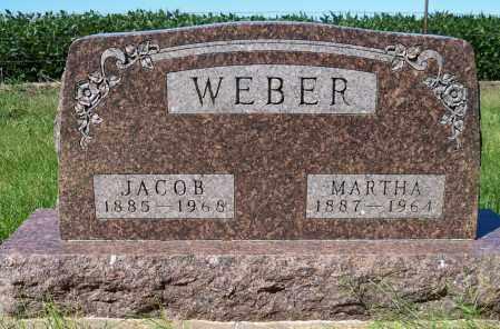 WEBER, MARTHA - Pierce County, Nebraska | MARTHA WEBER - Nebraska Gravestone Photos