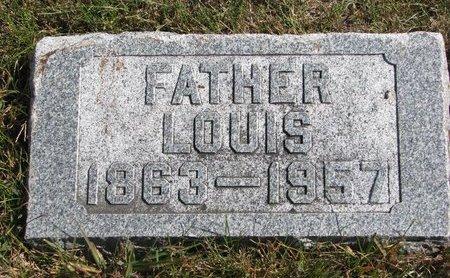 WEBER, LOUIS - Pierce County, Nebraska   LOUIS WEBER - Nebraska Gravestone Photos