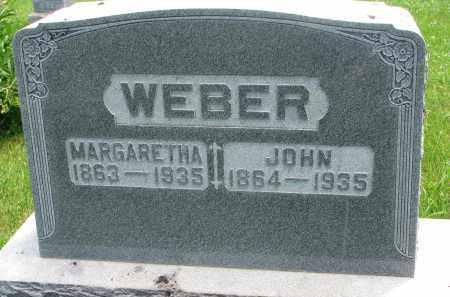 WEBER, MARGARETHA - Pierce County, Nebraska   MARGARETHA WEBER - Nebraska Gravestone Photos