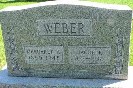 WEBER, MARGARET A. - Pierce County, Nebraska | MARGARET A. WEBER - Nebraska Gravestone Photos