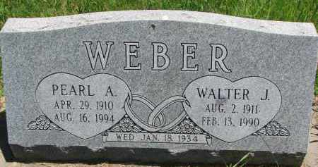 WEBER, PEARL A. - Pierce County, Nebraska | PEARL A. WEBER - Nebraska Gravestone Photos
