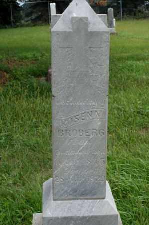 BROBERG, ROSENA - Platte County, Nebraska | ROSENA BROBERG - Nebraska Gravestone Photos