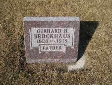 BROCKHAUS, GERHARD H. - Platte County, Nebraska | GERHARD H. BROCKHAUS - Nebraska Gravestone Photos