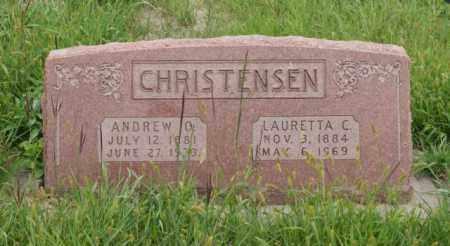 CHRISTENSEN, LAURETTA C. - Platte County, Nebraska | LAURETTA C. CHRISTENSEN - Nebraska Gravestone Photos