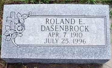 DASENBROCK, ROLAND EDGAR - Platte County, Nebraska | ROLAND EDGAR DASENBROCK - Nebraska Gravestone Photos