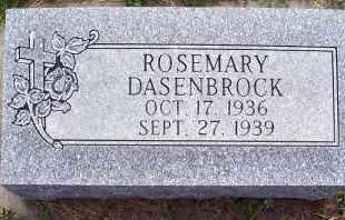 DASENBROCK, ROSEMARY - Platte County, Nebraska | ROSEMARY DASENBROCK - Nebraska Gravestone Photos