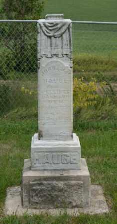 HAUGE, JORGEN M. - Platte County, Nebraska   JORGEN M. HAUGE - Nebraska Gravestone Photos