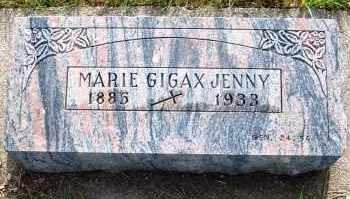 JENNY, MARIE - Platte County, Nebraska | MARIE JENNY - Nebraska Gravestone Photos
