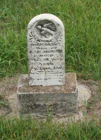 JOHNSON, ANNE NICKOLIN - Platte County, Nebraska | ANNE NICKOLIN JOHNSON - Nebraska Gravestone Photos