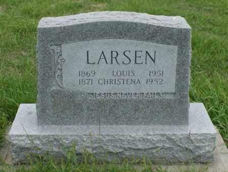 LARSEN, CHRISTENA - Platte County, Nebraska | CHRISTENA LARSEN - Nebraska Gravestone Photos