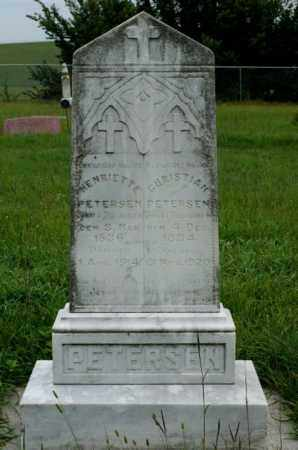 PETERSEN, CHRISTIAN - Platte County, Nebraska | CHRISTIAN PETERSEN - Nebraska Gravestone Photos