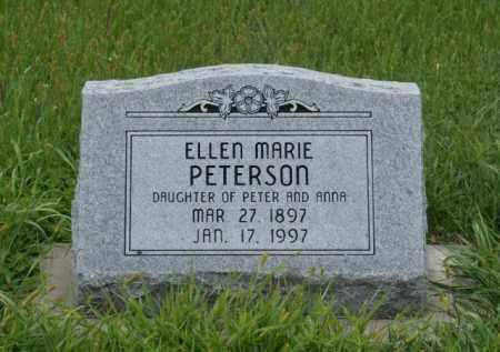 PETERSON, ELLEN MARIE - Platte County, Nebraska | ELLEN MARIE PETERSON - Nebraska Gravestone Photos