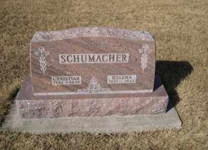 SCHUMACHER, CHRISTIAN - Platte County, Nebraska | CHRISTIAN SCHUMACHER - Nebraska Gravestone Photos