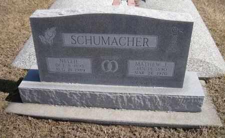SCHUMACHER, NELLIE - Platte County, Nebraska | NELLIE SCHUMACHER - Nebraska Gravestone Photos