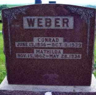 HEISE WEBER, MATHILDA - Platte County, Nebraska | MATHILDA HEISE WEBER - Nebraska Gravestone Photos