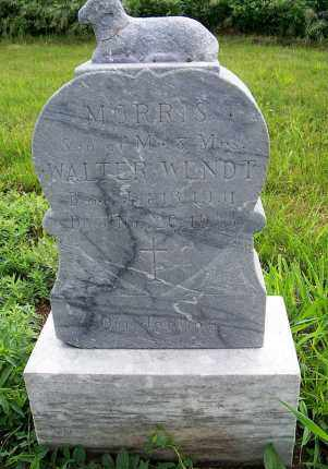 WENDT, MORRIS WALTER - Platte County, Nebraska   MORRIS WALTER WENDT - Nebraska Gravestone Photos