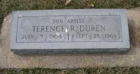 DUREN, TERENCE R. - Polk County, Nebraska   TERENCE R. DUREN - Nebraska Gravestone Photos